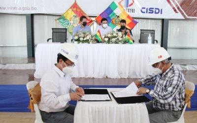 ENDE Corporación y la empresa siderúrgica del mutún firmaron convenio marco de cooperación interinstitucional
