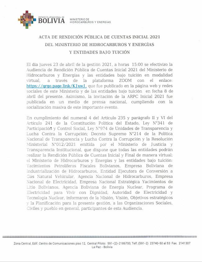 Acta de rendicion publica de cuentas inicial 2021